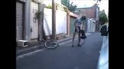 Най - малкият действащ велосипед джобен формат!