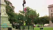 Activist Removes Confederate Flag Outside SC State Capitol
