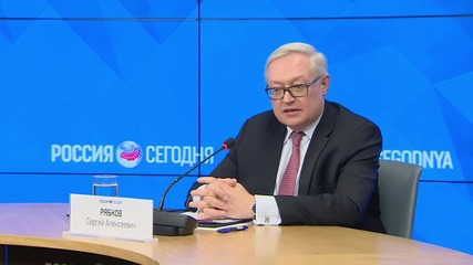 Russia: Deputy FM Ryabkov rejects 'the very formulation' of a Plan B in Syria