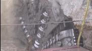 Компилация мега машини за копаене на тунели