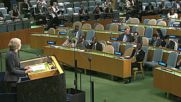 United Nations: UK will not walk away from our 'global partners' following Brexit - May addresses UNGA
