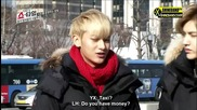 (exo showtime cut) Excited Tao + Yixing wants to see Baek's Grandma ll Еп. 7