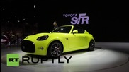 Japan: New Toyota S-FR concept debuts at Tokyo Motor Show