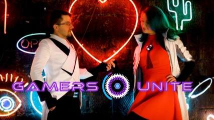 Gamers Unite: Cosplay Couple