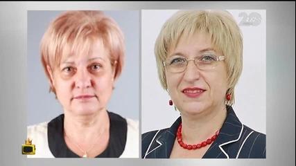 Нашествие от двойнички на Цецка Цачева в ТВ ефира - Господари на ефира (19.11.2014)