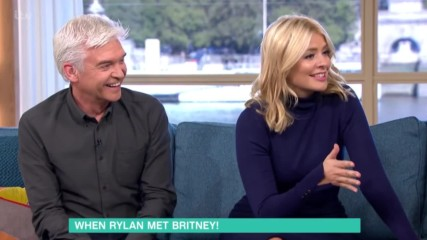 Britney Spears Is Baffled By Rylan39s Dance Moves Game - This Morning
