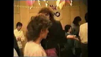 Бойко Неделчев - Girlfriend - на живо - 1989