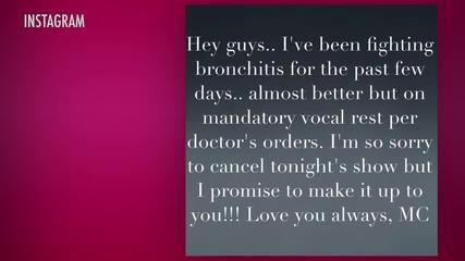 Mariah Carey Cancels Las Vegas Performances Due to Bronchitis