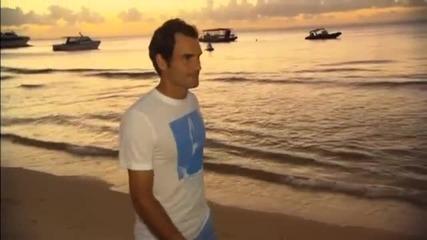 Федерер разпусна с делфини, надява се да спечели Australian Open