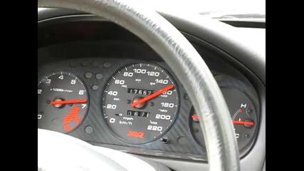 Honda Civic Ek3 B18c4 turbo 0-180km/h