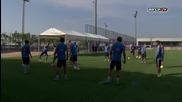Тренировка на Барселона (16/7/2015)