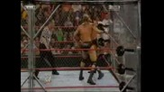 WWE Triple H Vs Randy Orton - Cage Match (Judgment Day 2008)