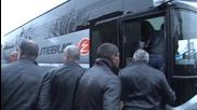 Armenia: Volunteers from Yerevan board buses for Nagorno-Karabakh