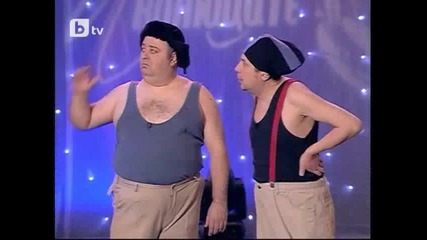 Сашето и Ванката станаха автомонтьори - Комиците