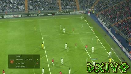 [ H D ] Pes 2012: Реал Мадрид с/у Арсенал