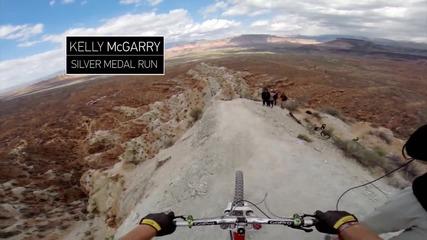 Red Bull Rampage 2013- Бруталният Рън на Kelly Mcgarry: Скок с бекфлип над 22метров каньон ...