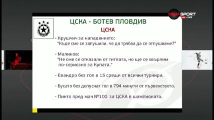 Преди ЦСКА - Ботев