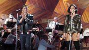 Невероятни! Demi Lovato and Nick Jonas - America The Beautiful ( Boston 4th of July Rehearsal)