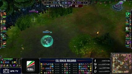 Go4lol България #141: Bz vs. Afk Tv