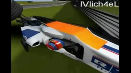 Kubica Crash