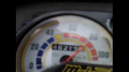 Malaguti Crosser - Top Speed 90 km/h