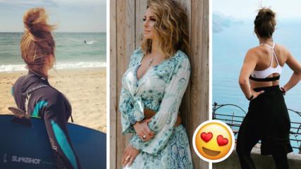 Сани Жекова показа супер тяло на романтична средиземноморска почивка