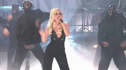 Lady Gaga - - Bad Romance Live Hq - Jay Leno !!