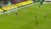 Бърнли - Уест Хям Юнайтед 1:2 /първо полувреме/