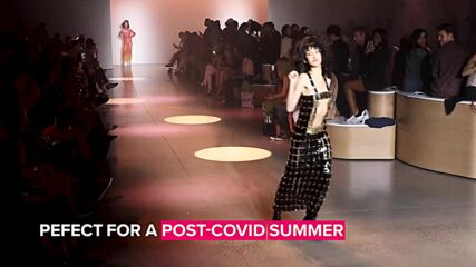 Christian Cowan enlists Winnie Harlow & more models to party down his runway