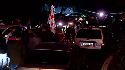 Georgia: Hundreds rally in support of ex-pres Saakashvili in Tbilisi