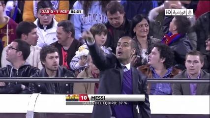 Zaragoza 0 - 1 Fcb (messi)