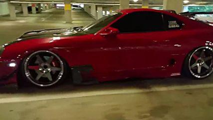 Уникален тунинг на Toyota Supra