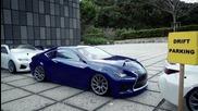 Майсторски дрифт с Lexus Rc