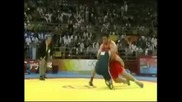 Olympic wrestling freestyle highlights Beijing 2008