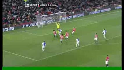 Foster Save - Man Utd V Blackburn = Carlin