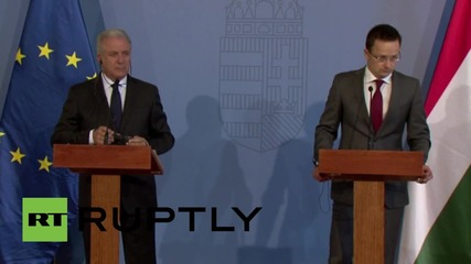 """Hungary: """"We have declared war against smugglers"""" - Commissioner Avramopoulos"""