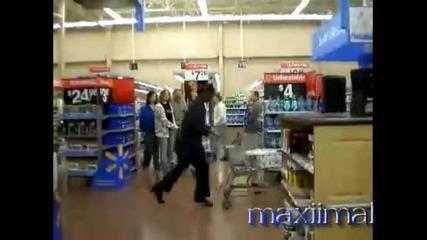 Пазаруване с лунната походка