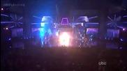 Nicki Minaj - Turn Me On & Super Bass [ American Music Awar ]