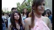 Абитуриентски бал 2010 - Петрич - Пгит Асен Златаров *шествие* /видео 3/ (24.05.2010)