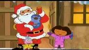 Дора Изследователката Коледна Песен !