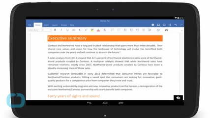 Microsoft's New Free Office Apps Arrive on Android Phones