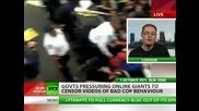 Британската и Щатска полиция настояват за свалянето на клипове с полицейска бруталност от интернет
