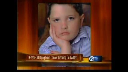 Дете отказва 8-а операция на тумор, иска да умре спокойно