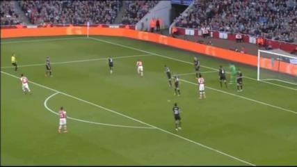 ВИДЕО: Арсенал - Бърнли 3:0