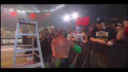 Wwe Money in the bank 2011 Raw Ladder Match Част 1/2 hd