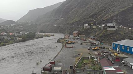 Russia: Heavy rains flood several Dagestan districts