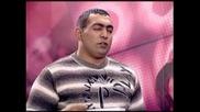 Абсолютен фалш в Music Idol 2 - Борец се опитва да изпее песента от Титаник