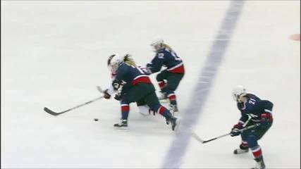 женски хокей Canada-us rivalry