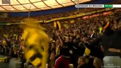 Borussia Dortmund - Bayern Munchen (5-2) Alle Tore Highlights - Dortmund 5x2 Munich 12-05-2012