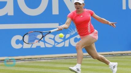 Simona Halep Shocked by Kristina Mladenovic in Aegon Classic
